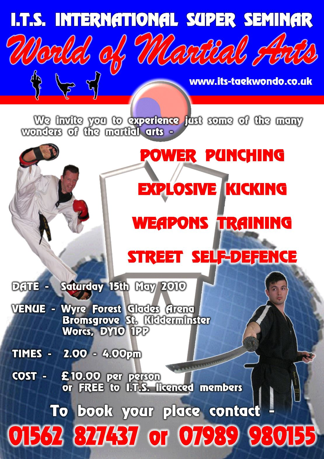 Workshops & Seminars - John Swift | Mastering the Martial Arts